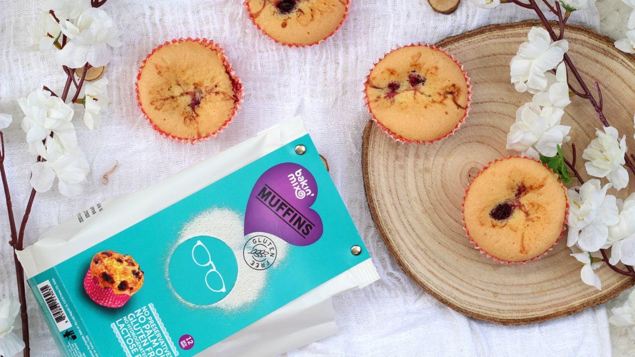 Muffini bez glutena sa šumskim voćem: brzo i jednostavno