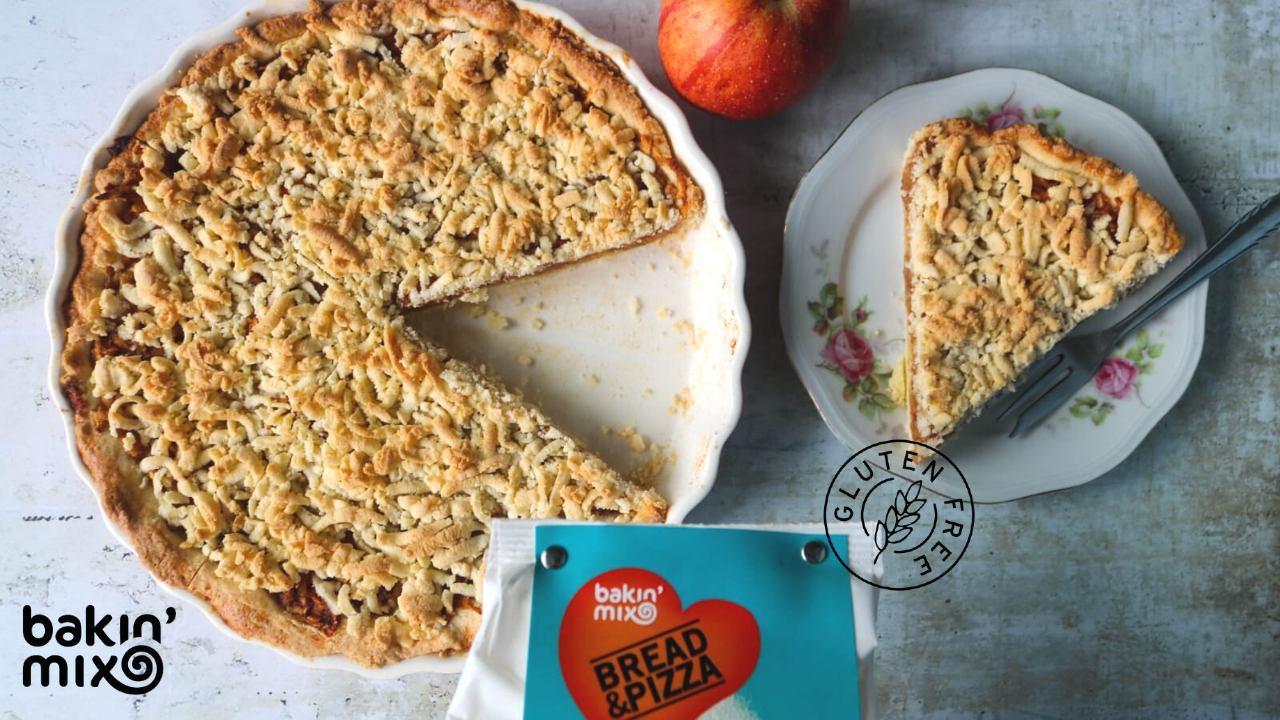 Jabolčna pita brez glutena